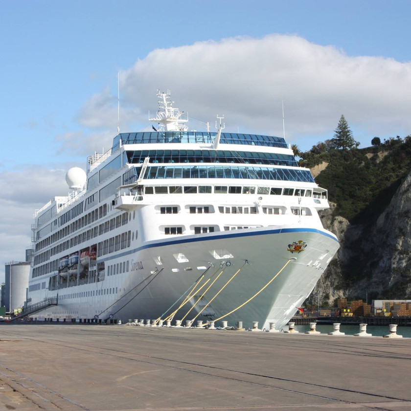 Arrival to New Zealand by Sea
