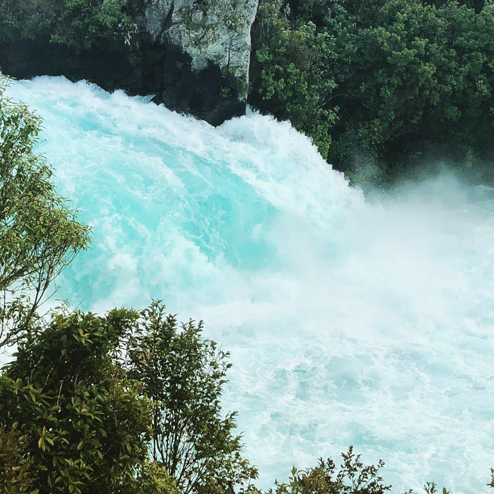 Водопады Хука Новая Зеландия