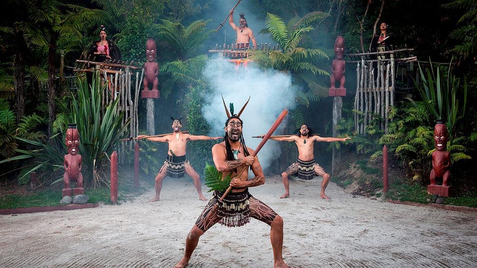 Maori Culture Experience at Tamaki Maori Village, Rotorua