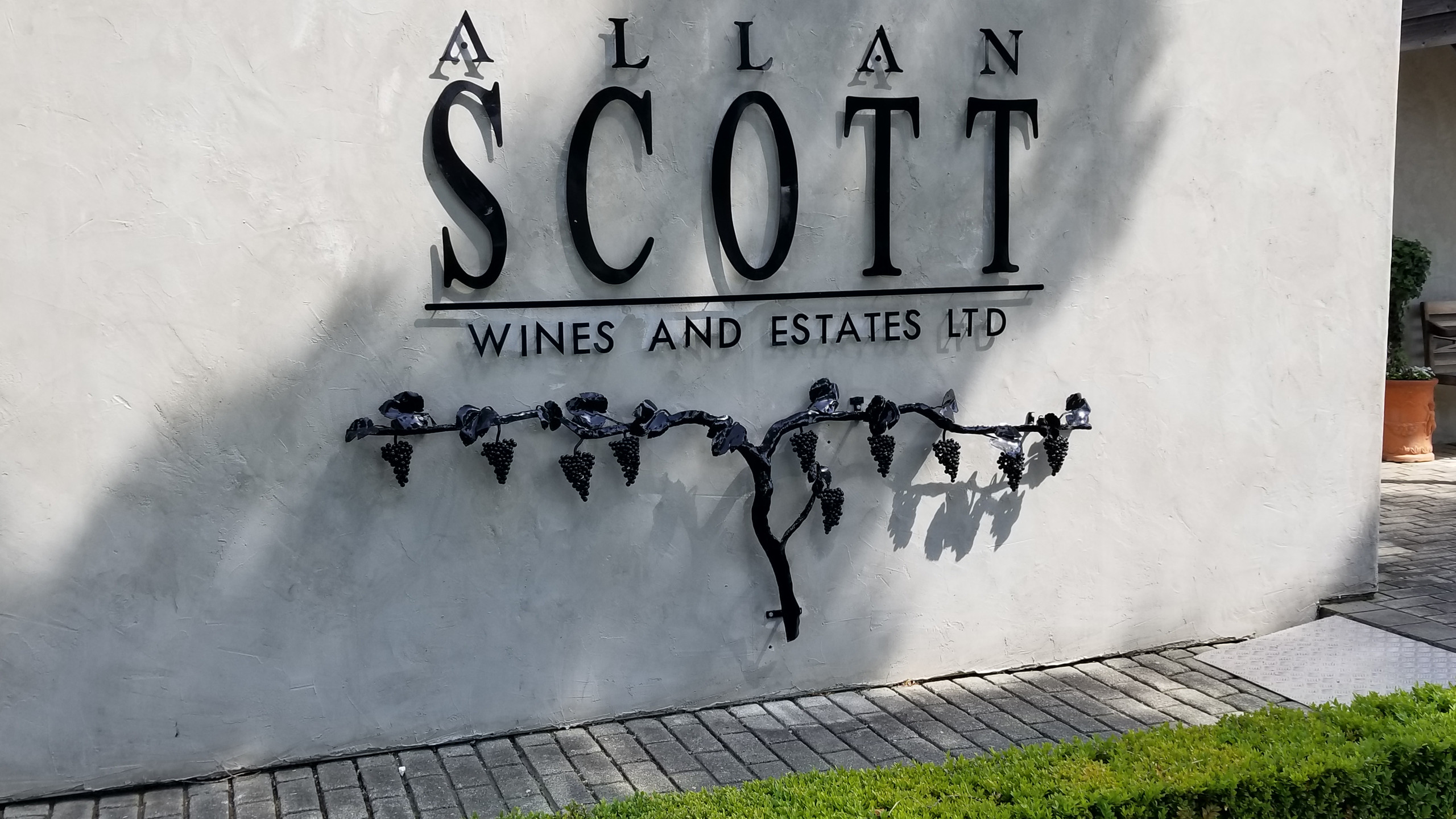 Allan Scott winery, Marlborough, New zealand travel blog
