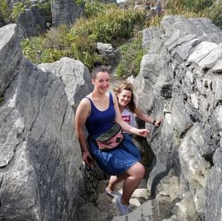 Блинчиковые скалы Пунакаики