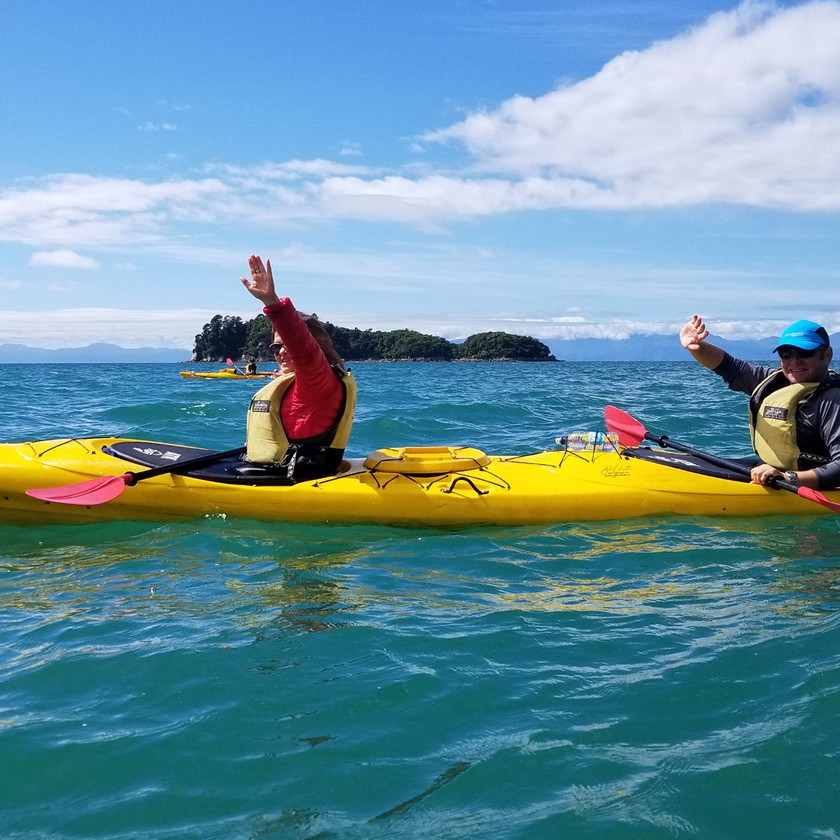 Abel Tasman Kayaking: Kayak & Pitt Head Nature Loop