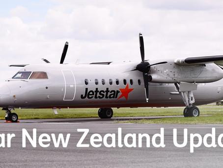 Авиакомпания JetStar объявила об отмене пяти региональных рейсов в Новой Зеландии