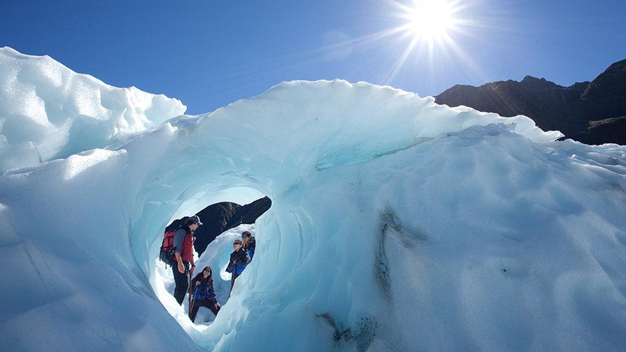 Экскурсия на ледник Фокса, Новая Зеландия. Туры в Новую Зеландию. Экскурсии в Новой Зеландии.