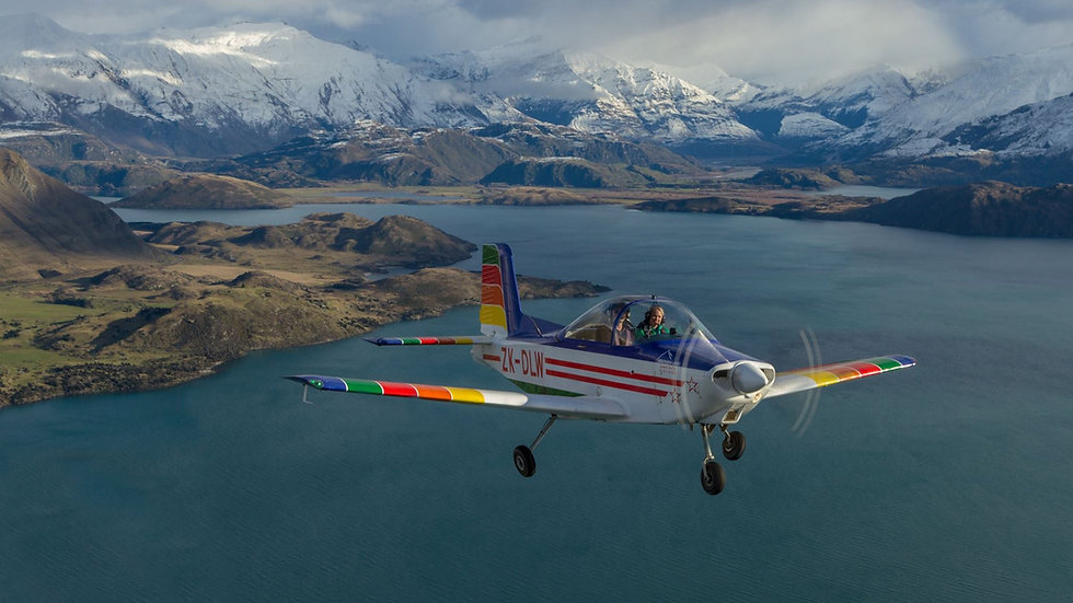 Wanaka airplane tour New Zealand