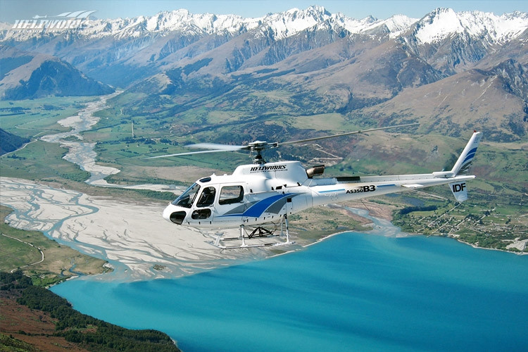 Milford Sound heli tour New Zealand