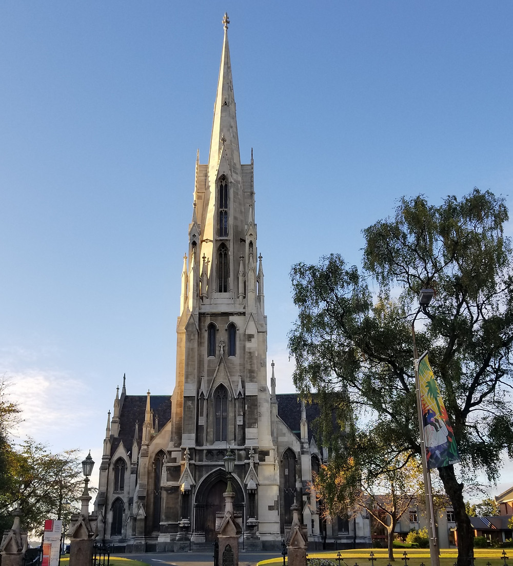 The First Church, Dunedin, New Zealand tour, New Zealand itinerary