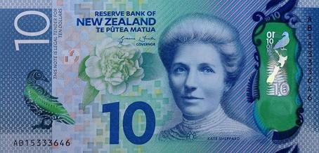 10 новозеландских долларов, туры в Новую Зеландию