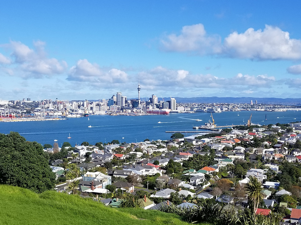 Auckland city view from Mt Victoria (Devonport)