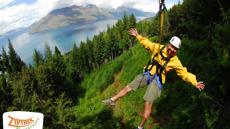 Ziptrek Ecotours Queenstown New Zealand