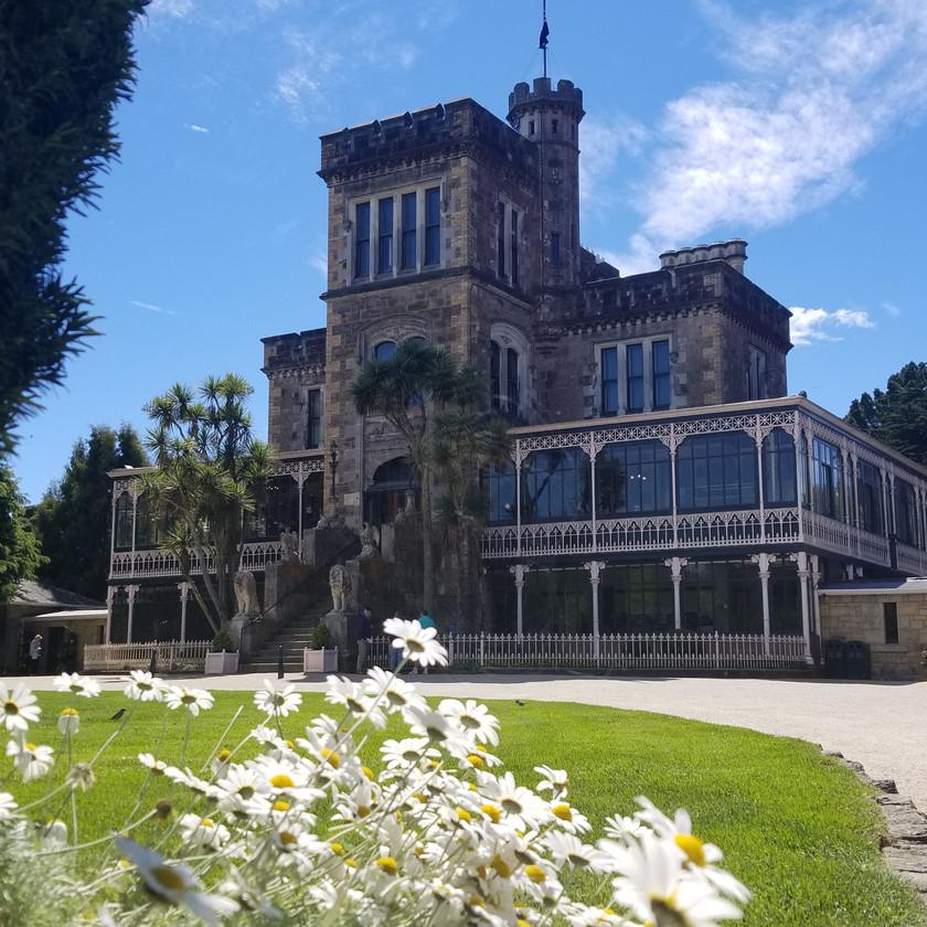 Замок Ларнак, Данидин. Экскурсии в Новой Зеландии.