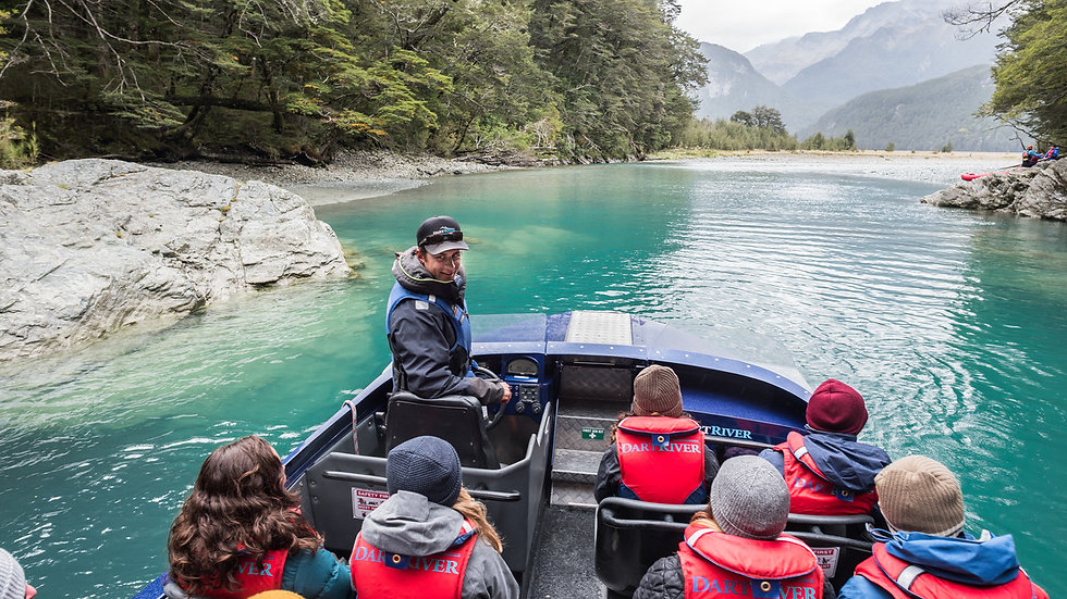 Dart River Wilderness Jet Queenstown New Zealand