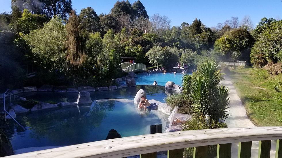 Wairakei Terraces Taupo New Zealand