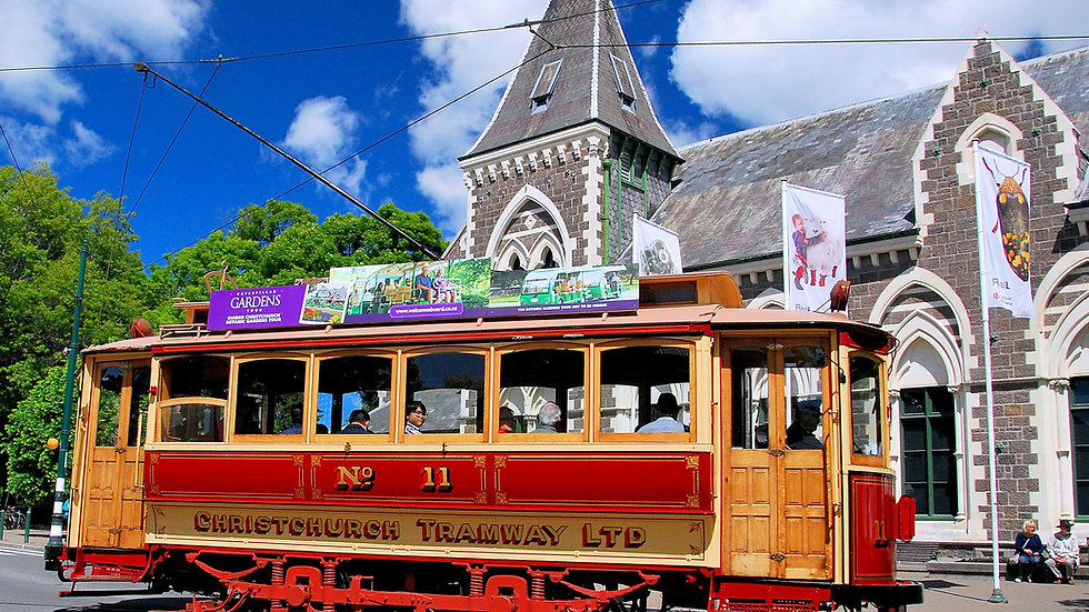 Christchurch by tram