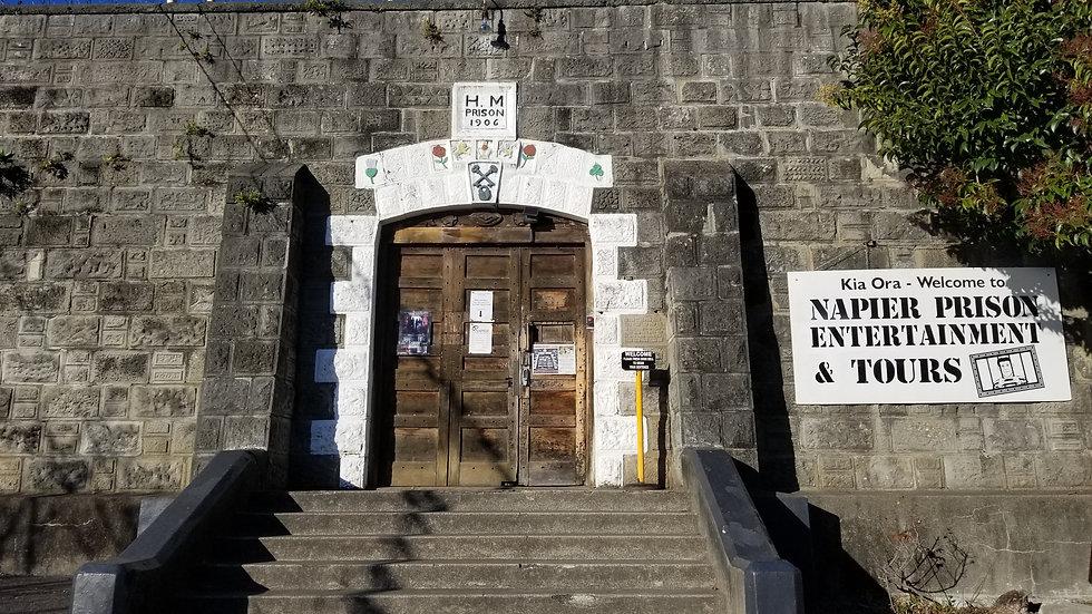 Историческая тюрьма Нэпье, Новая Зеландия. Туры в Новую Зеландию. Экскурсии в Новой Зеландии.