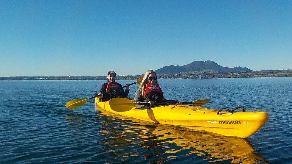 Каякинг на озере Таупо Новая Зеландия. Туры в Новую Зеландию. Гид в Новой Зеландии. Экскурсии в Новой Зеландии.