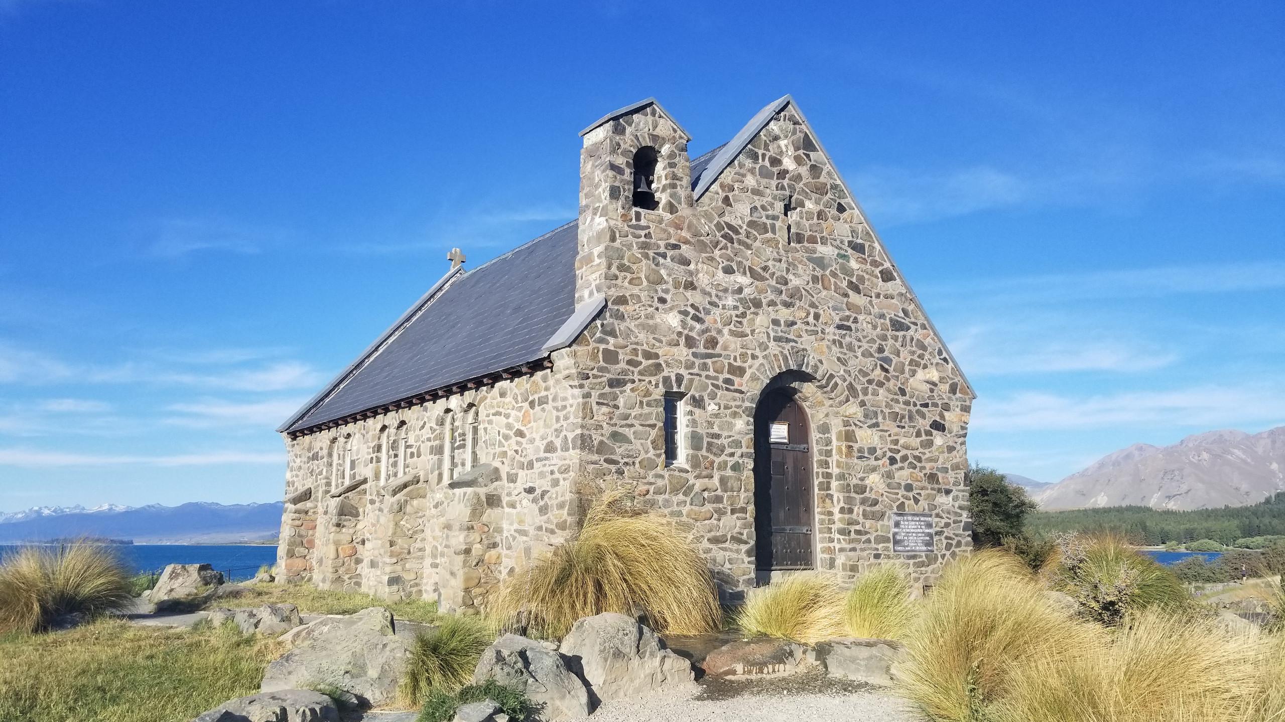Church of the Good Shepherd lake Tekapo New Zealand