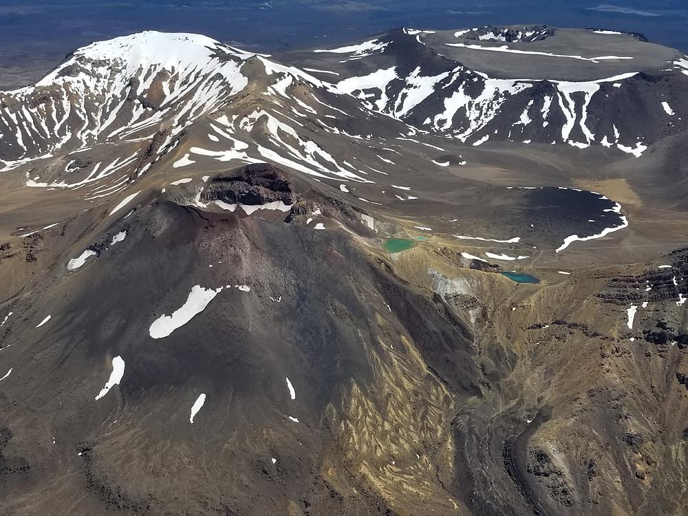Экскурсия Полет на самолете над вулканами нацпарка Тонгариро, Новая Зеландия. Туры в Новую Зеландию.