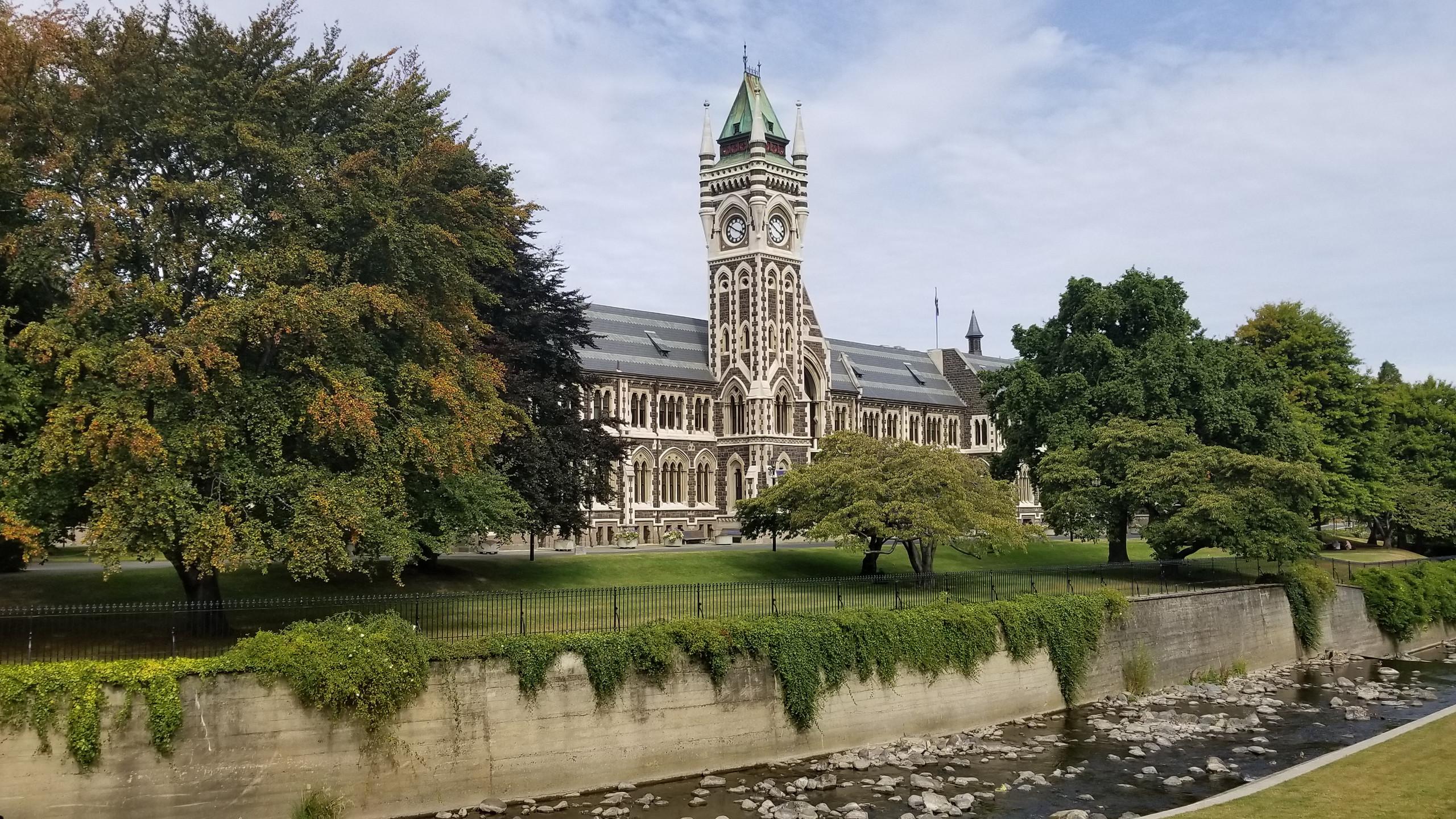 Университет Отаго, Данидин, Новая Зеландия