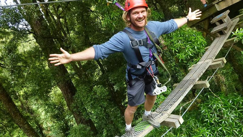 Rotorua canopy tour, New Zealand, tours to New Zealand