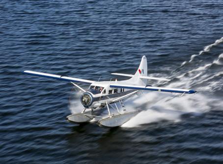 New Zealand tourism occupations. A floatplane pilot.