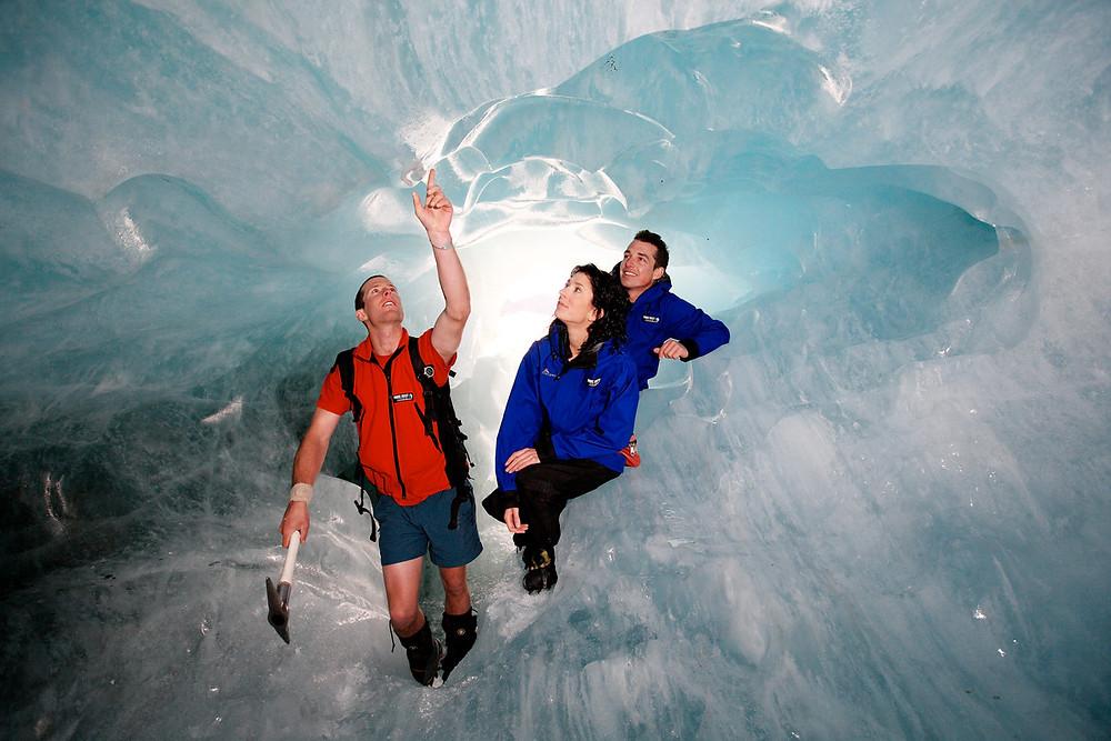 Тур на ледник Франца Иосифа Новая Зеландия