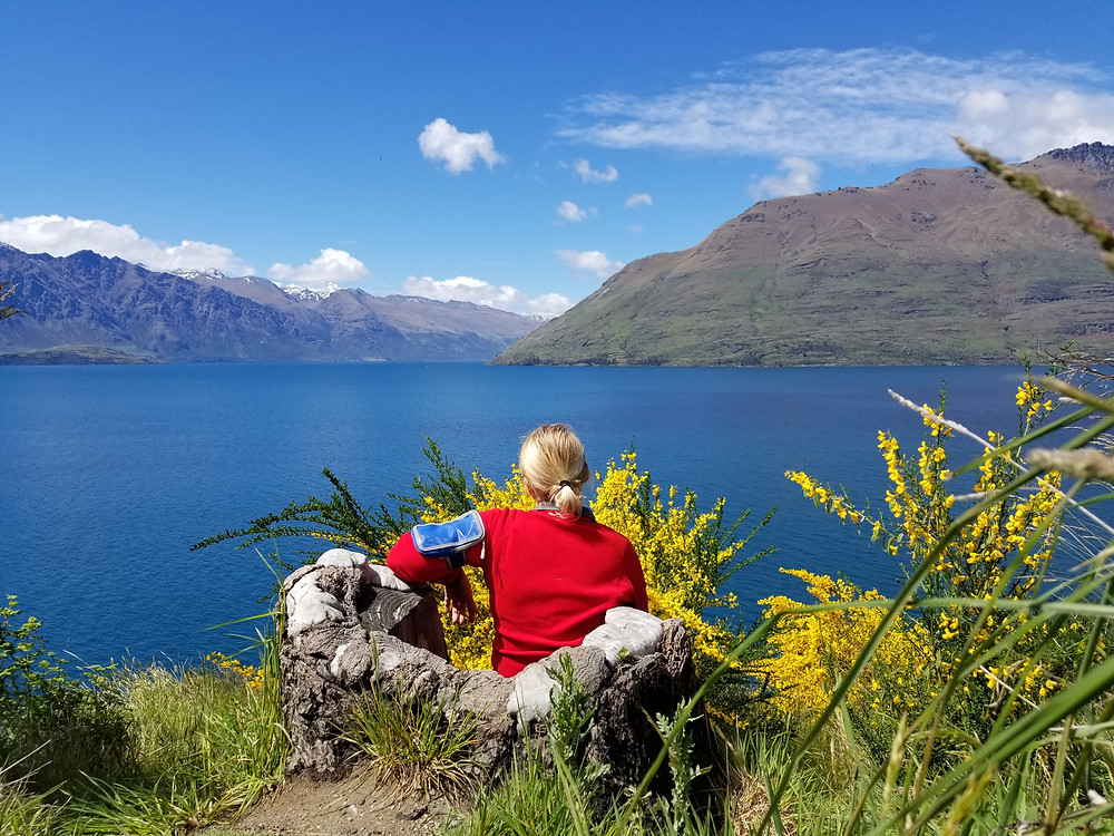 Lake Wakatipu, Queenstown, group tour to New Zealand