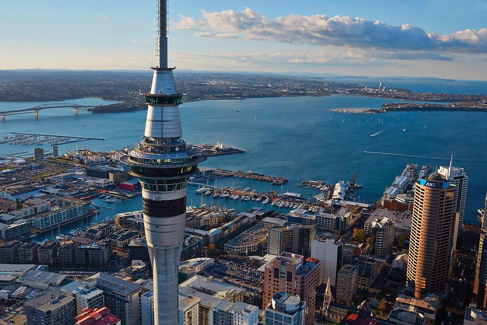 Окленд, Новая Зеландия. Групповой тур в новую Зеландию.