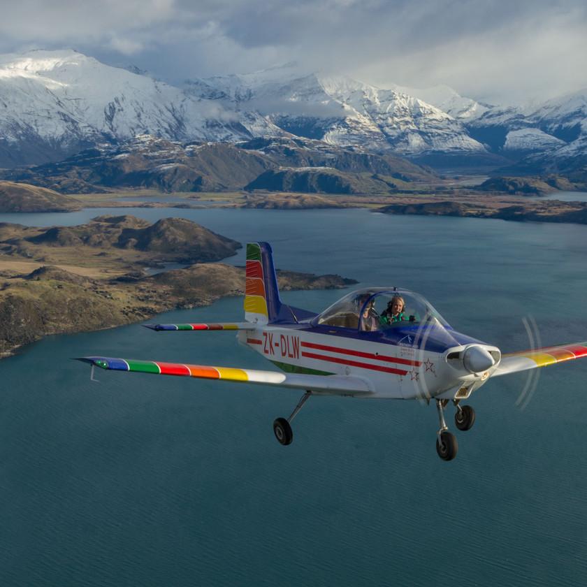 Lakes Original U-Fly Adventure (30 min), Wanaka