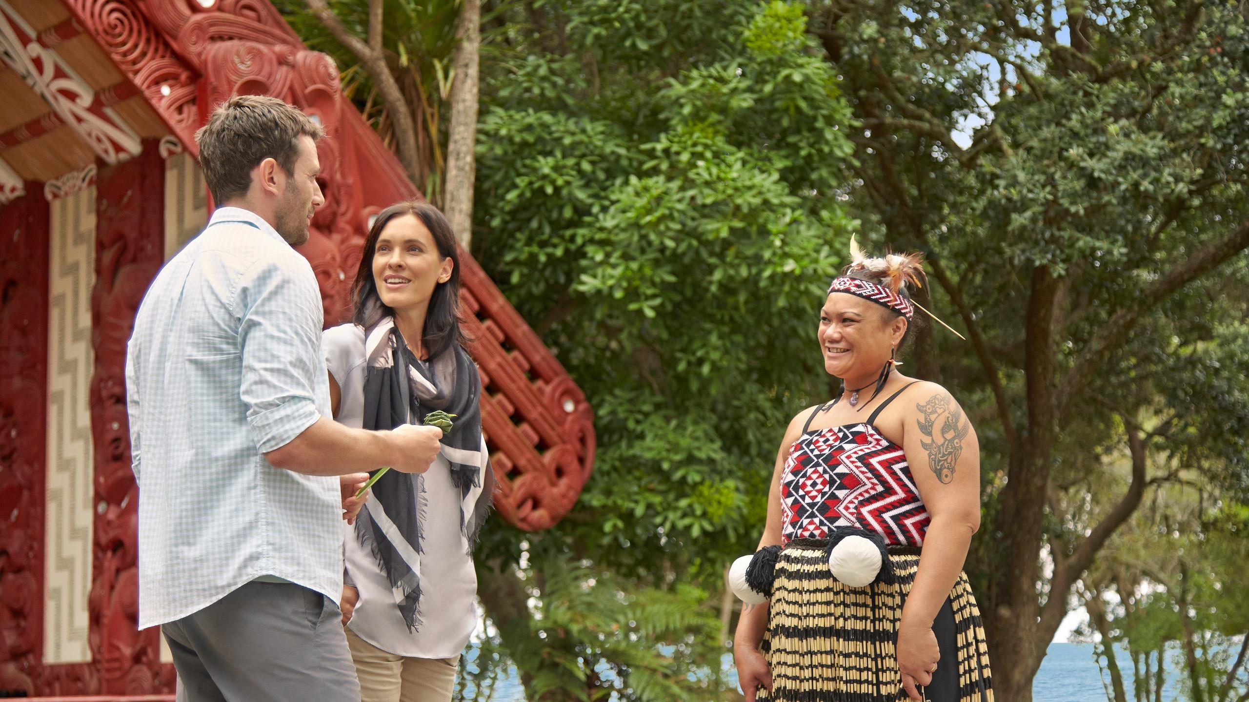 Деревня Вайтанги, Новая Зеландия