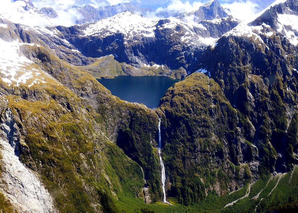 Виды Фиордленда Новая Зеландия