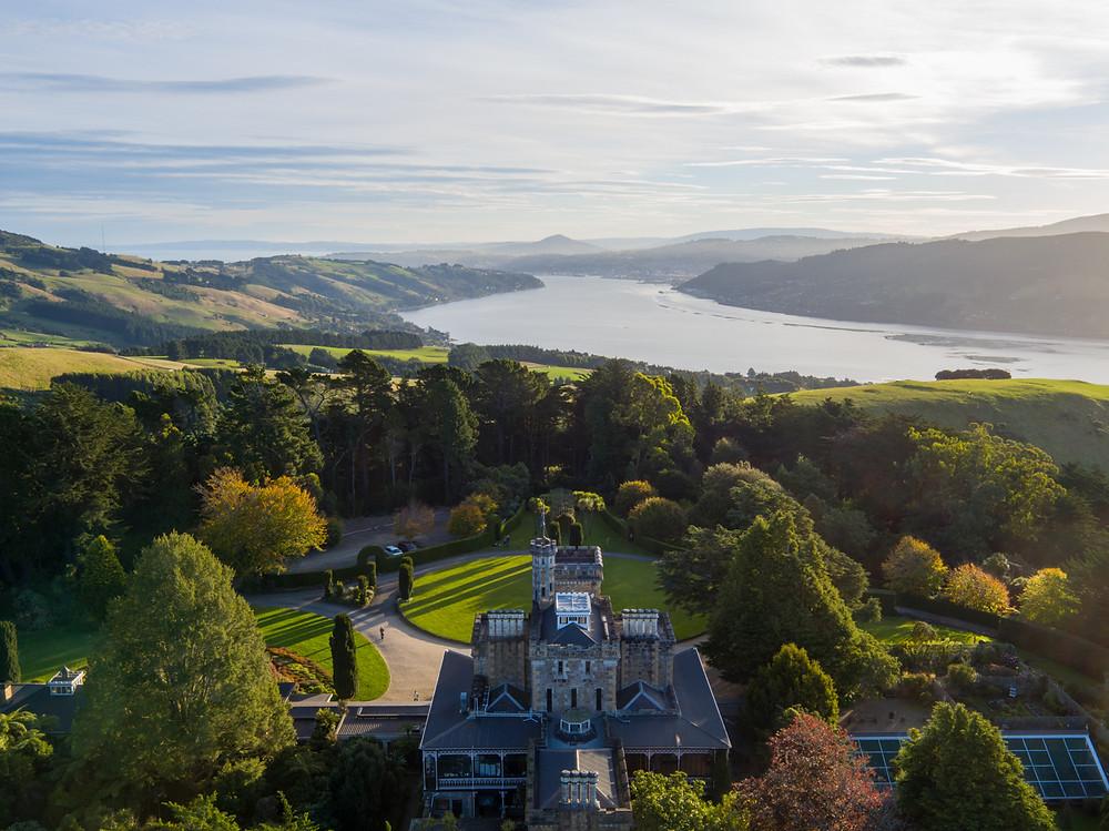 Замок Ларнак, Данидин, Новая Зеландия. Тур в Австралию и Новую Зеландию.