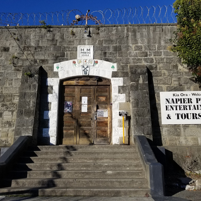 Napier Prison Tour with Audio Wand