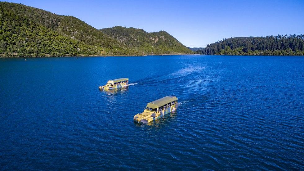 Tarawera & Lakes Tour by Amphibian Vehicle Rotorua
