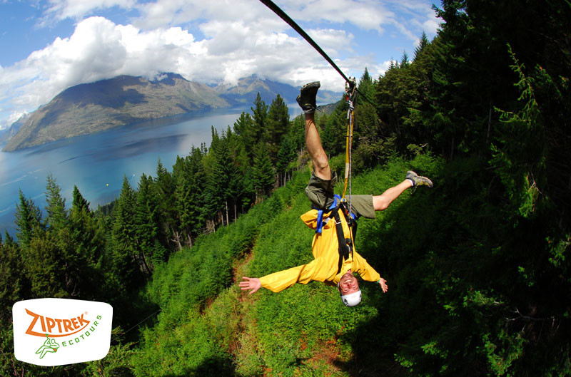 Ziptrek ecotours in Queenstown New Zealand