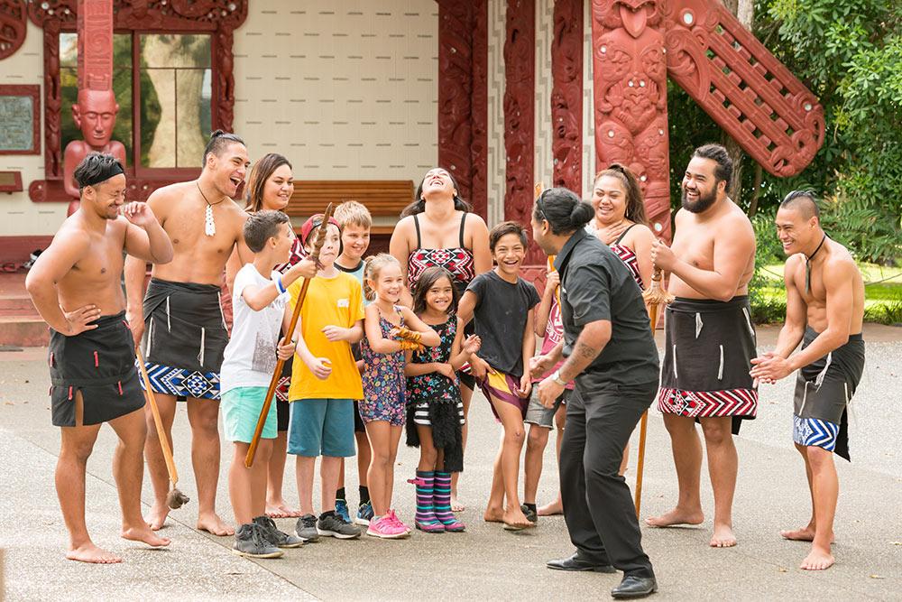 Деревня Вайтанги Новая Зеландия