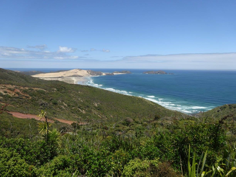 90-мильный пляж в Новой Зеландии