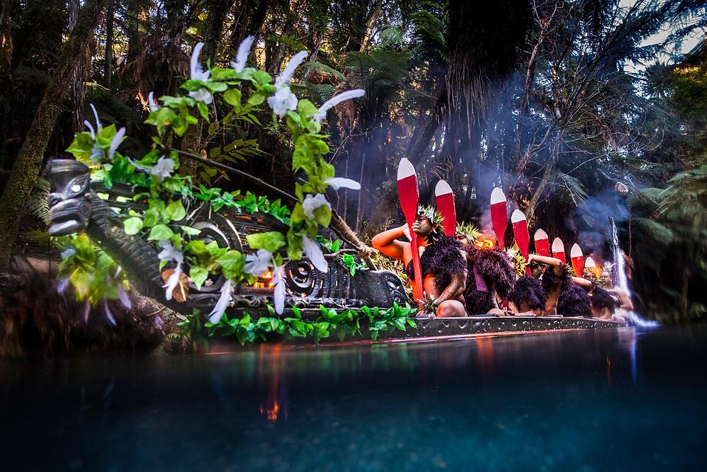 Маорийская деревня Митай, Роторуа, Новая Зеландия. Туры в Новую Зеландию. Экскурсии в Новую Зеландию.