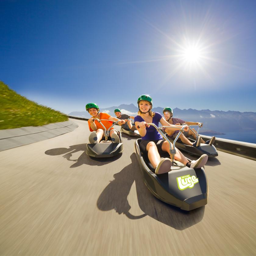 Skyline Gondola & Luge Rides, Queenstown