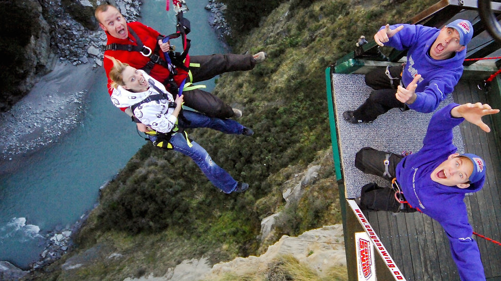 Shotover Canyon Swing Queenstown