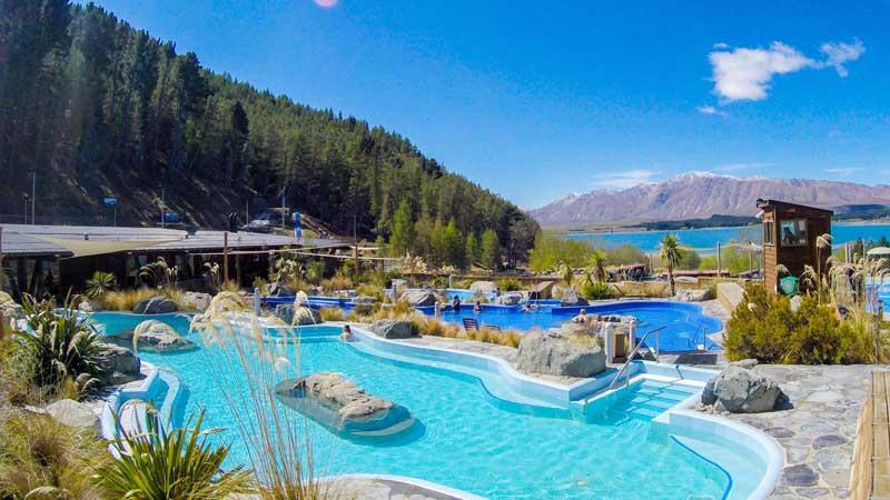 Tekapo Springs, Текапо, Новая Зеландия