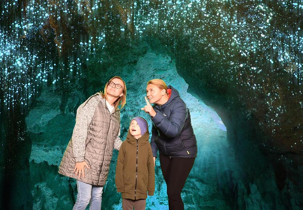 Waitomo Glowworm Cave, New Zealand