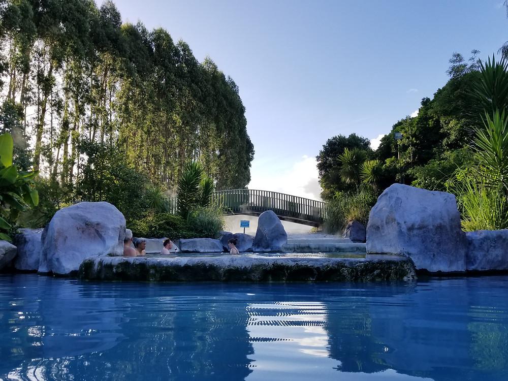 Wairakei Terraces, Таупо, Новая Зеландия