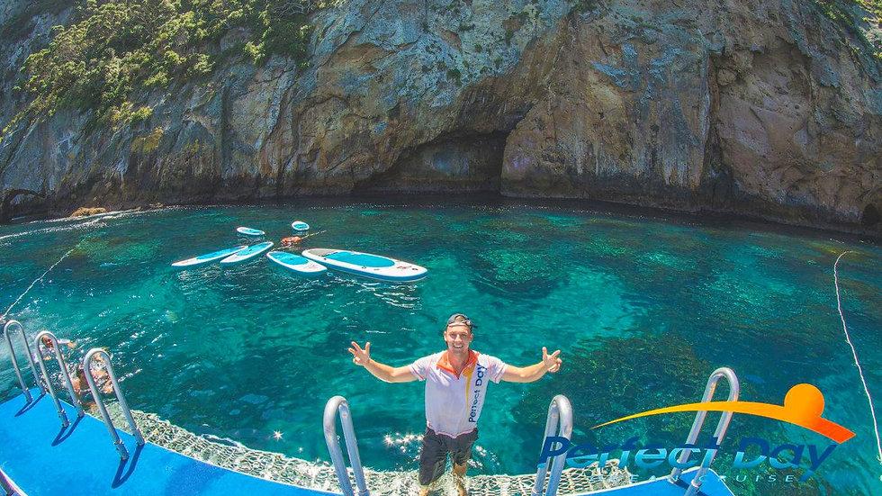 Snorkelling, Kayaking, Poor Knights Islands, New Zealand