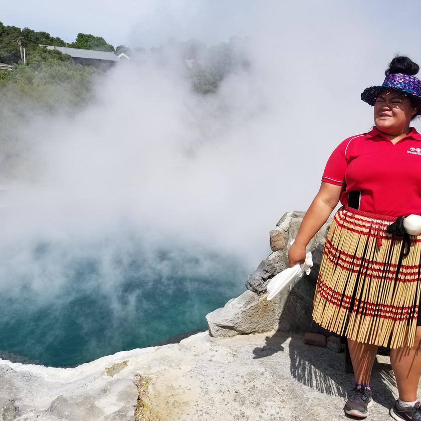 Тур из Окленда в Вайтомо и Роторуа с русским гидом, Новая Зеландия