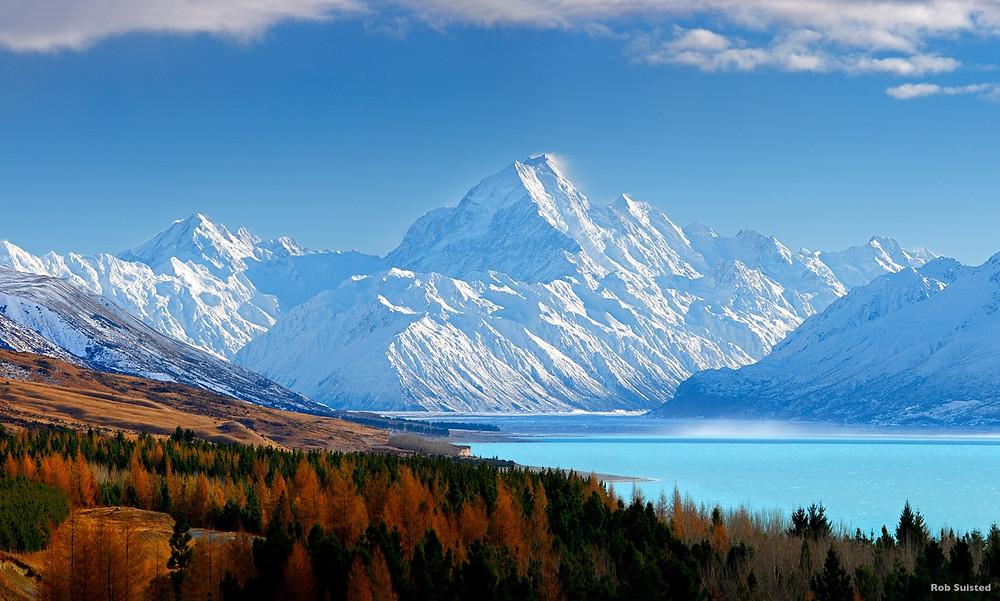 гора Кука, Новая Зеландия, туры в Новую Зеландию