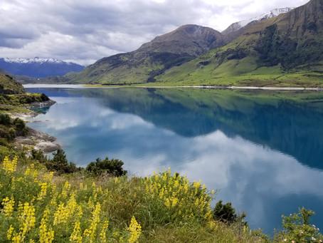 Lakes Wanaka and Hawea