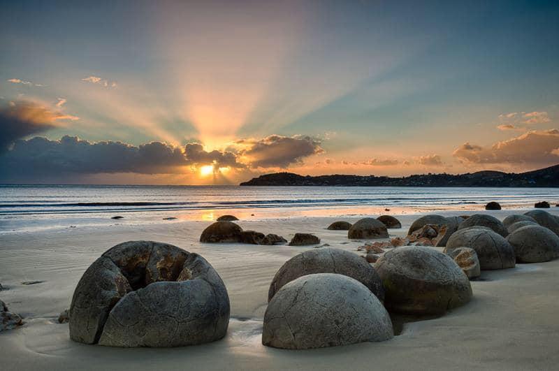 Moeraki Boulders, New Zealand activities, New Zealand attractions