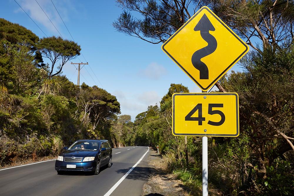 дорога, безопасность в Новой Зеландии, туры в Новую Зеландию