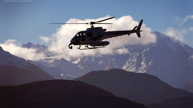 Lord of the Ring heli-tour, Queenstown, New Zealand